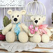 Куклы и игрушки ручной работы. Ярмарка Мастеров - ручная работа Пара свадебных мишек. Друзья Тедди. Handmade.