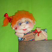 Куклы и игрушки ручной работы. Ярмарка Мастеров - ручная работа Обереговая кукла на входную дверь. Handmade.