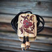 Аксессуары handmade. Livemaster - original item The Bolo Tie.Sakta.Inlay.Five. Handmade.