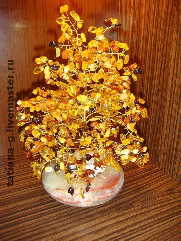 Дерево из натуральных камней, Обереги талисманы амулеты, Москва, Фото №1