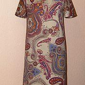 Одежда ручной работы. Ярмарка Мастеров - ручная работа платье А-силуэта. Handmade.