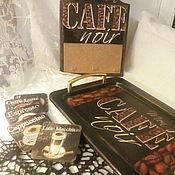 Для дома и интерьера ручной работы. Ярмарка Мастеров - ручная работа Cafe набор. Handmade.