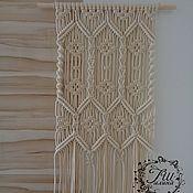 Картины и панно ручной работы. Ярмарка Мастеров - ручная работа Панно макраме №5 (по мотивам). Handmade.