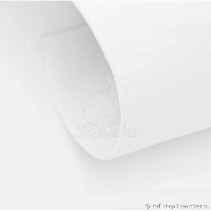 Фоамиран иранский 60*70 1мм белый (01), Фоамиран, Подольск,  Фото №1