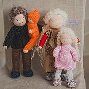 Куклы и игрушки handmade. Livemaster - original item Family - Waldorf dolls. Handmade.