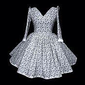 """Одежда ручной работы. Ярмарка Мастеров - ручная работа Платье """"Ришелье"""". Handmade."""