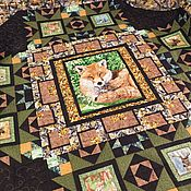 Для дома и интерьера handmade. Livemaster - original item Fox patchwork. Handmade.