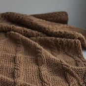 Аксессуары handmade. Livemaster - original item Scarf knitted from the wool of a camel