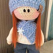Тыквоголовка ручной работы. Ярмарка Мастеров - ручная работа Вязаная кукла тыквоголовка. Handmade.