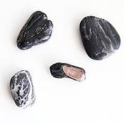 Украшения handmade. Livemaster - original item Brooch with black tourmaline (sherl) and quartz, black handmade brooch. Handmade.