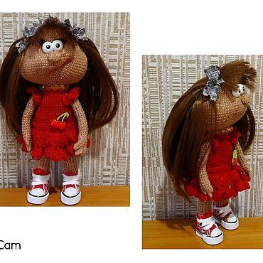 Куклы и игрушки ручной работы. Ярмарка Мастеров - ручная работа Игрушки: девочка. Handmade.