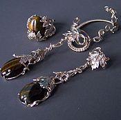 Украшения handmade. Livemaster - original item WIRE WRAP.  Jewelry set