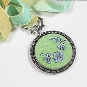 Украшения handmade. Livemaster - original item Embroidered pendant Ailor 2. Handmade.