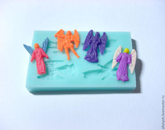 """Для украшений ручной работы. Ярмарка Мастеров - ручная работа. Купить Форма, молд """"Четыре архангела"""" (арт.: 196). Handmade."""