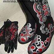 Обувь ручной работы. Ярмарка Мастеров - ручная работа моднячий комплект. Handmade.