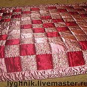 """Для дома и интерьера ручной работы. Ярмарка Мастеров - ручная работа Лоскутное одеяло """"Нарядное"""". Handmade."""