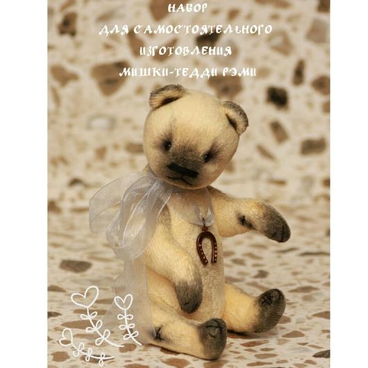 Мишки Тедди ручной работы. Ярмарка Мастеров - ручная работа. Купить Набор для изготовления мишки-тедди Рэми. Handmade. Разноцветный