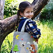 """Работы для детей, ручной работы. Ярмарка Мастеров - ручная работа Cумка авоська """"Я подарю тебе звезду!"""". Handmade."""