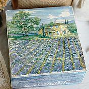 Для дома и интерьера handmade. Livemaster - original item Box box box Provence. Handmade.