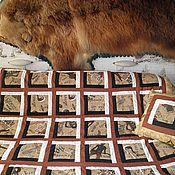 Для дома и интерьера ручной работы. Ярмарка Мастеров - ручная работа Одеяло  покрывало Rock (23 февраля). Handmade.