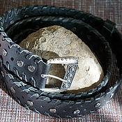 Аксессуары handmade. Livemaster - original item Leather strap 2. Handmade.