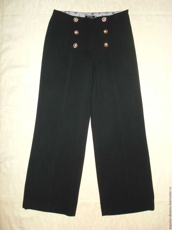 Темно синие брюки с доставкой