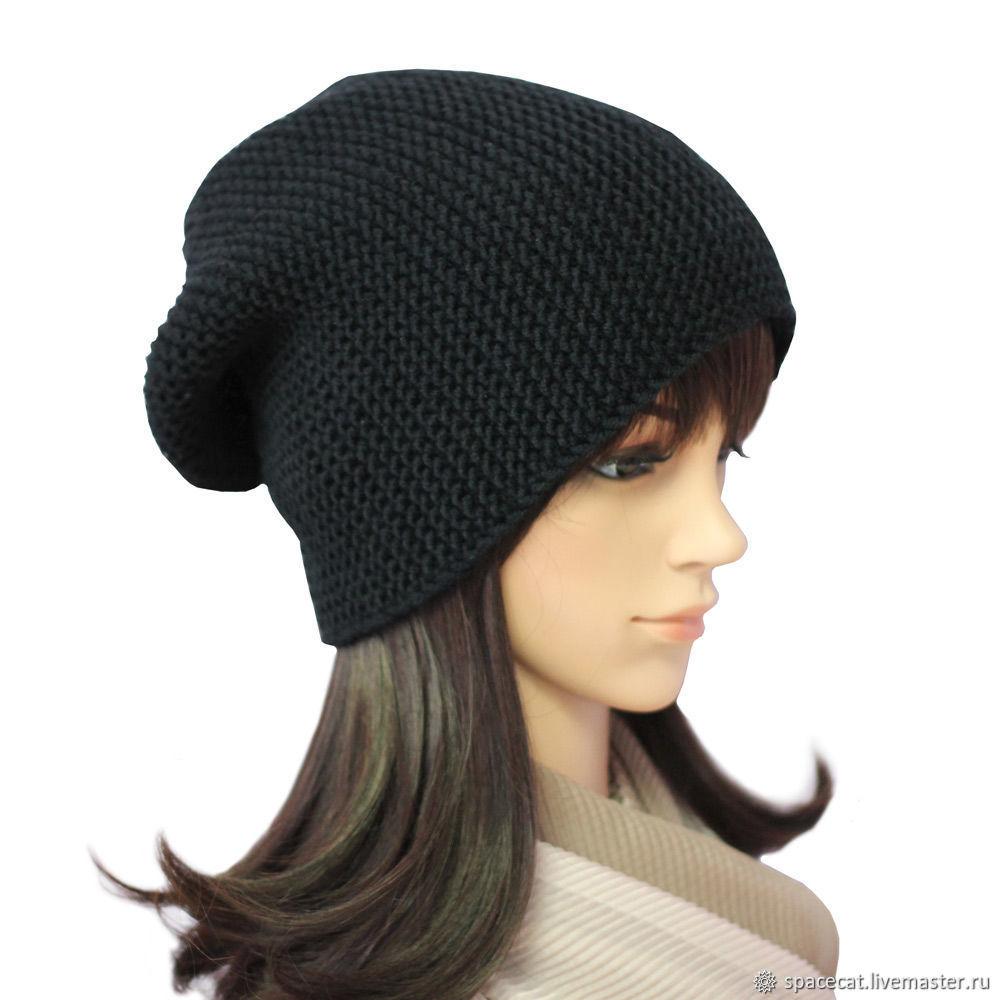 Hooligan hat-stocking knitted, Caps, Orenburg,  Фото №1