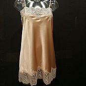 """Одежда ручной работы. Ярмарка Мастеров - ручная работа Ночная сорочка цвета """"Пыльная роза"""". Handmade."""