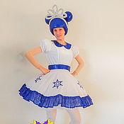 Одежда handmade. Livemaster - original item Doll Snow Queen. Scenic suit/Cosplay/Carnival costume. Handmade.