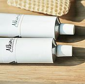 Косметика ручной работы handmade. Livemaster - original item Honey paste for face wash 80 g.. Handmade.