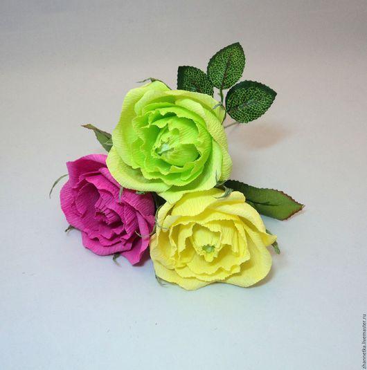 Букеты ручной работы. Ярмарка Мастеров - ручная работа. Купить Роза с конфеткой.. Handmade. Комбинированный, подарок женщине, презент