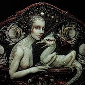 """Украшения ручной работы. Ярмарка Мастеров - ручная работа Брошь """"The Lady and the Phoenix"""". Handmade."""