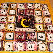 Картины и панно ручной работы. Ярмарка Мастеров - ручная работа мир ислама войлок батик. Handmade.