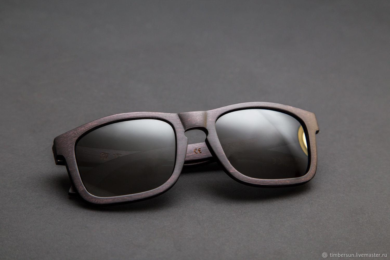 """""""Dark Sahara"""" от Timbersun деревянные солнцезащитные очки, Очки, Москва,  Фото №1"""