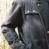 Одежда handmade. Livemaster - original item Pea COAT mens .. Handmade.