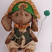 """Куклы и игрушки ручной работы. Ярмарка Мастеров - ручная работа Слоник тедди """"Перино"""" (Perino). Handmade."""