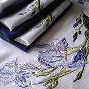 """Для дома и интерьера ручной работы. Ярмарка Мастеров - ручная работа Программа машинной вышивки """"Ирисы"""". Handmade."""