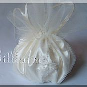 Свадебный салон ручной работы. Ярмарка Мастеров - ручная работа Свадебная сумочка «Конфетка». Handmade.
