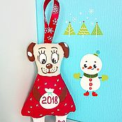 Куклы и игрушки ручной работы. Ярмарка Мастеров - ручная работа Новогодние сувенирчики. Handmade.