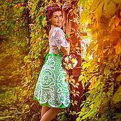"""Платья ручной работы. Ярмарка Мастеров - ручная работа Кружевное платье """"Счастливый миг"""". Handmade."""
