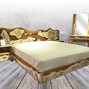 Для дома и интерьера handmade. Livemaster - original item Bed with headboard