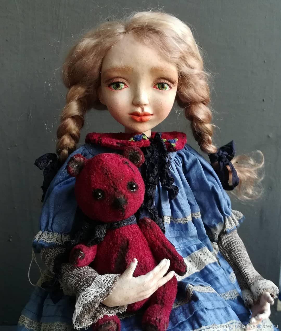 Наташа, Будуарная кукла, Томск,  Фото №1