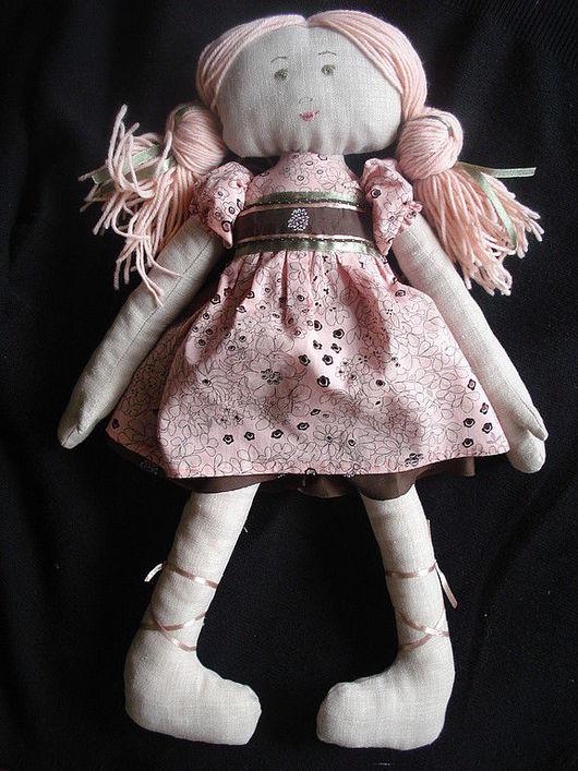 Ароматизированные куклы ручной работы. Ярмарка Мастеров - ручная работа. Купить Розалинка. Handmade. Лён, хлопок, синтепон