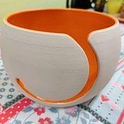 "Материалы для творчества handmade. Livemaster - original item Yarn Bowl ""Wave"". Handmade."