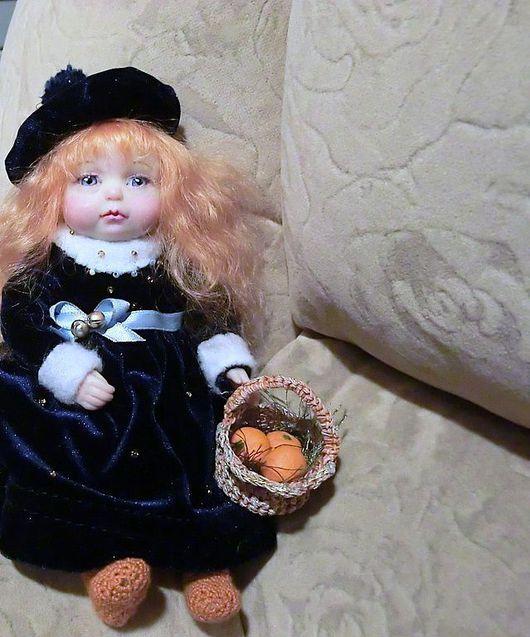Коллекционные куклы ручной работы. Ярмарка Мастеров - ручная работа. Купить Лапочка!. Handmade. Куколка, подвижная кукла