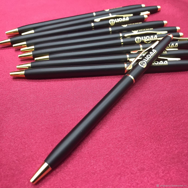 Engraved pen art. 003/1, Handle, Nizhny Novgorod,  Фото №1
