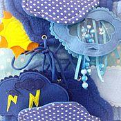 Куклы и игрушки ручной работы. Ярмарка Мастеров - ручная работа Погода - развивающе-игровой сюжет!. Handmade.