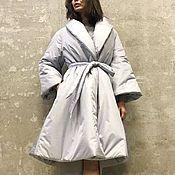 Пальто ручной работы. Ярмарка Мастеров - ручная работа Пальто женское утепленное Silvar. Handmade.