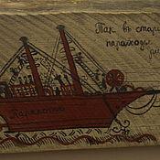 Русский стиль handmade. Livemaster - original item Panels on the old boards