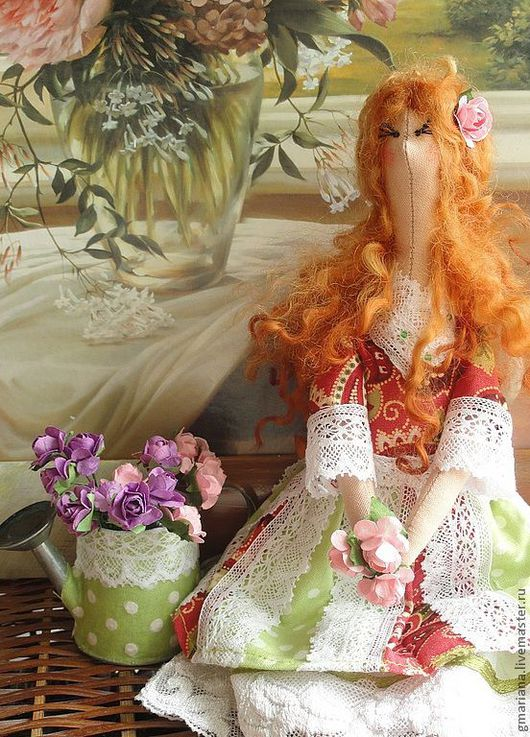 Куклы Тильды ручной работы. Ярмарка Мастеров - ручная работа. Купить Кукла Мари текстильная. Handmade. Кукла ручной работы